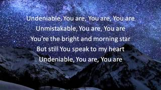 TobyMac - Undeniable (Lyrics)