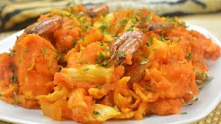 getlinkyoutube.com-How To Make Yam Porridge (Nigerian Asaro) - Chef Lola's Kitchen