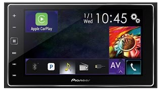 getlinkyoutube.com-Pioneer AppRadio 4 SPH-DA120 and Apple CarPlay in 2015 Subaru STi