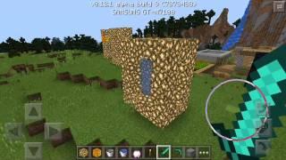 getlinkyoutube.com-Как сделать портал в рай в Minecraft pocket edition