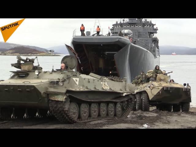 Russisches Militär trainiert Kampfeinsatz in der Arktis