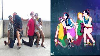 getlinkyoutube.com-Just Dance Unlimited - Cheerleader (Felix Jaehn Remix) | 5 Stars | Gameplay
