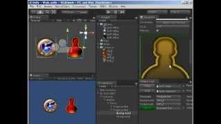 getlinkyoutube.com-Unity3D / NGUI Progress Bar / Cool Down Skill Button #1