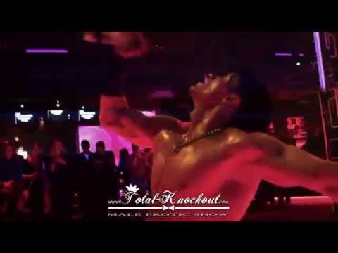 Total Knockout male erotic dance show HOT trailer 1 / 2013 striptease