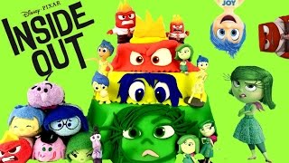 Disney Pixar's Inside Out Play Doh Surprise Cake! Shopkins! Moofia! Kidrobot!