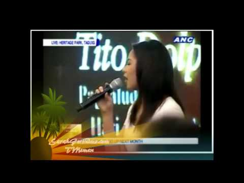 Sarah Geronimo - The Lord's Prayer / Our Father - Final Tribute to Comedy King Dolphy