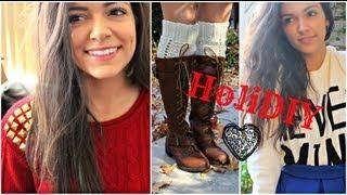 getlinkyoutube.com-HoliDIY: Renovate your sweaters for the Holidays!