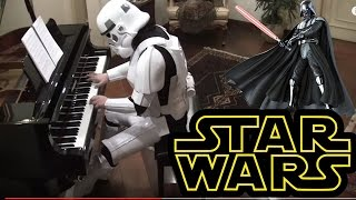 getlinkyoutube.com-Starwars, The Imperial March on Piano  ( Darth Vader's Theme )