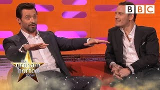 getlinkyoutube.com-Hugh Jackman talks about running naked on set - The Graham Norton Show: Series 15 Episode 5 - BBC