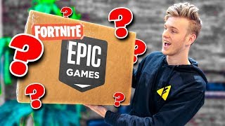 Unboxing-A-Fortnite-Package-from-Epic-Games width=