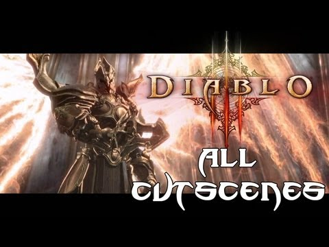 Diablo III 'All Cutscenes' TRUE-HD QUALITY