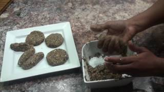 getlinkyoutube.com-Healthiest burgers ever made! Cooking with Hafza.--Somali food with modern twist.