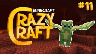 getlinkyoutube.com-Minecraft CRAZY CRAFT 2.2 | STINKY DRAGONS [11]
