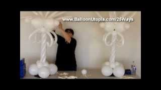 getlinkyoutube.com-How to Make a Fancy Centerpiece From Balloons