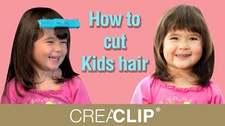 getlinkyoutube.com-How to cut Kids hair- Straight bangs and layers for Children