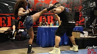 getlinkyoutube.com-'KILLIN IT' AT THE 2015 LA FIT EXPO - Rich Piana