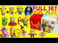 2017 Despicable Me 3 Minions McDonalds Happy Meal Toys Full Set