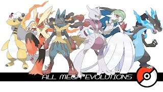 getlinkyoutube.com-All Mega Evolutions (メガシンカ)
