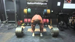 getlinkyoutube.com-795 Raw Beltless Deadlift @ 242