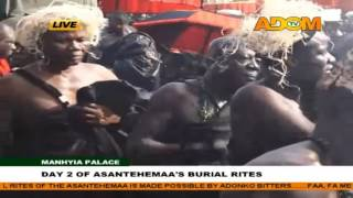 getlinkyoutube.com-Asantehemaa's funeral - Day 2