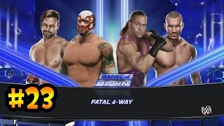getlinkyoutube.com-WWE 2K15 - Todos contra Nacho Libre, Combates arreglados y Mas..