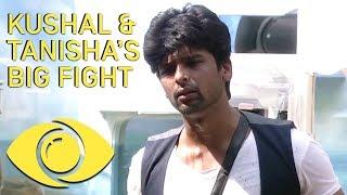Kushal And Tanisha Big Fight - Bigg Boss India | Big Brother Universe