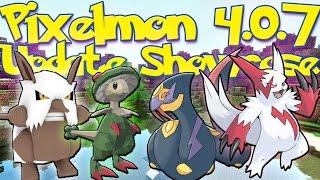 getlinkyoutube.com-Pixelmon 4.0.7 Update Review! Shiftry & Breloom Line! Zangoose/Seviper! (Pixelmon 4.0.7 Update)