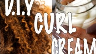 getlinkyoutube.com-DIY - Curl Conditioning Cream