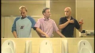getlinkyoutube.com-Men can multi task - Three men in a toilet (HD)