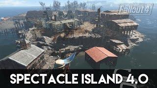 getlinkyoutube.com-Fallout 4 - Spectacle Island 4.0 (Fallout 4 Settlement Showcase)