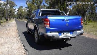 getlinkyoutube.com-2016 Mitsubishi Triton GLS (manual) 0-100km/h & engine sound