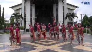 Mixed Traditional East Java and Modern Dance, BCA Banjarmasin Branch, 2014