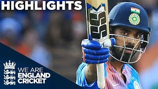 Rahul Super Century As India Show Their Class | England v India 1st Vitality IT20 2018 - Highlights width=