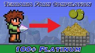 getlinkyoutube.com-Terraria Top 3 Money Farms/Tricks, Over 100 platinum!!!