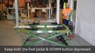 getlinkyoutube.com-Strongman Tools - Tamar 2.8ton Scissor Construction Video Guide