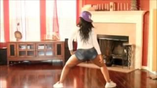getlinkyoutube.com-Best Black Girl TWERK ever (Big Booty Shake) modern dance choreo art HOT SEXY POP