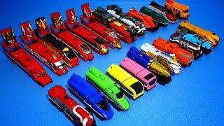 getlinkyoutube.com-파워레인저 트레인포스 대회전캐논 23개 트레인 총출동 - 파워레인저 트레인포스 장난감  烈車戦隊 Power Rangers Toys