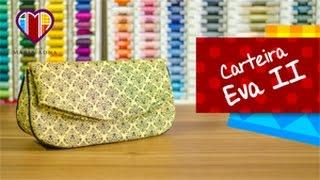 getlinkyoutube.com-Bolsa carteira de tecido Eva II - Maria Adna Ateliê - Cursos e aulas de bolsas/carteiras de tecido