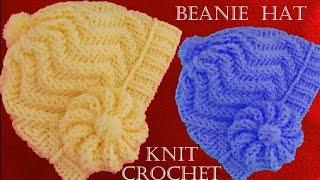 getlinkyoutube.com-Como tejer gorro boina a Crochet o ganchillo en punto relieve