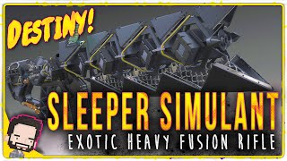 """getlinkyoutube.com-""""Lets TRY to use Sleeper Simulant in Crucible"""" 