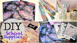 getlinkyoutube.com-Back To School: DIY School Supplies!!