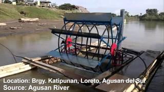 getlinkyoutube.com-AMCCAP Spiral Water Wheel Pumps Tabanyag