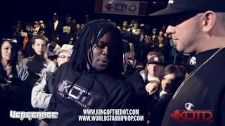 KOTD - Rap Battle - Arsonal vs Pat Stay