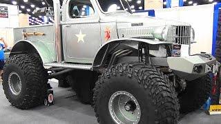 """getlinkyoutube.com-1941 Dodge Pickup """"Sgt Rock"""" NSRA Street Rod Nationals 2015"""
