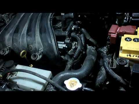 Nissan Tiida. Замена ДВС