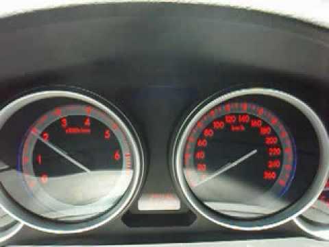 Где находится привод спидометра у Mazda Атенза