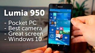 getlinkyoutube.com-Lumia 950 review - vs iPhone 6s // Samsung S6
