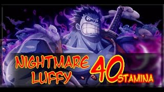 getlinkyoutube.com-Nightmare Luffy Raid Boss! One Piece Treasure Cruise JP 40 Stamina!