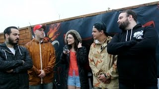 getlinkyoutube.com-Stray From The Path - Interview at Download Festival 2015