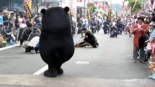getlinkyoutube.com-くまモン,撃たれる!?